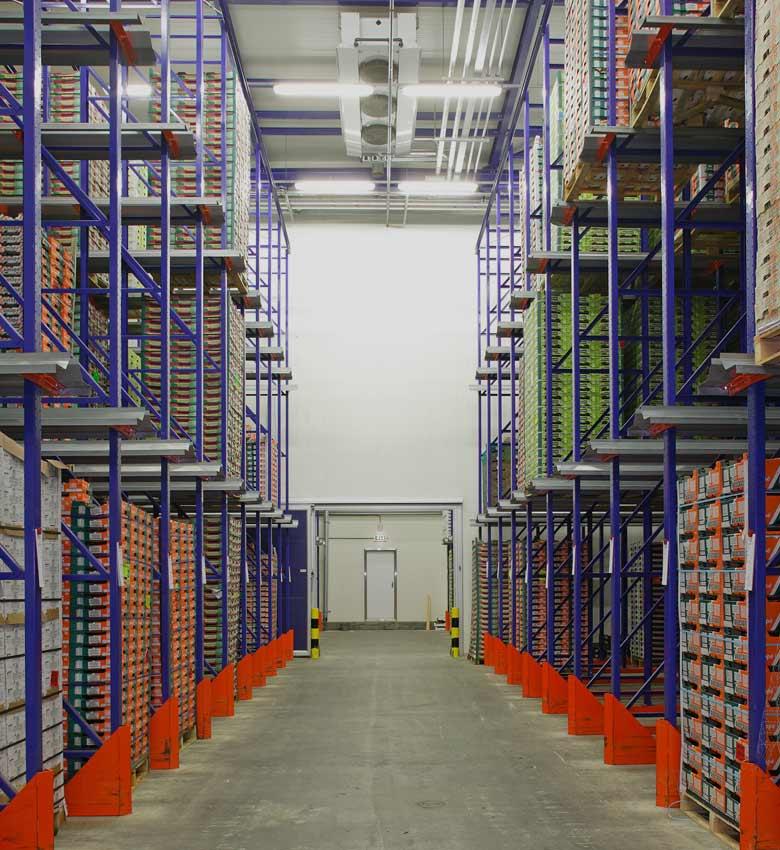Αποθήκευση (logistics) Ξηρών & Ευπαθών Προϊόντων